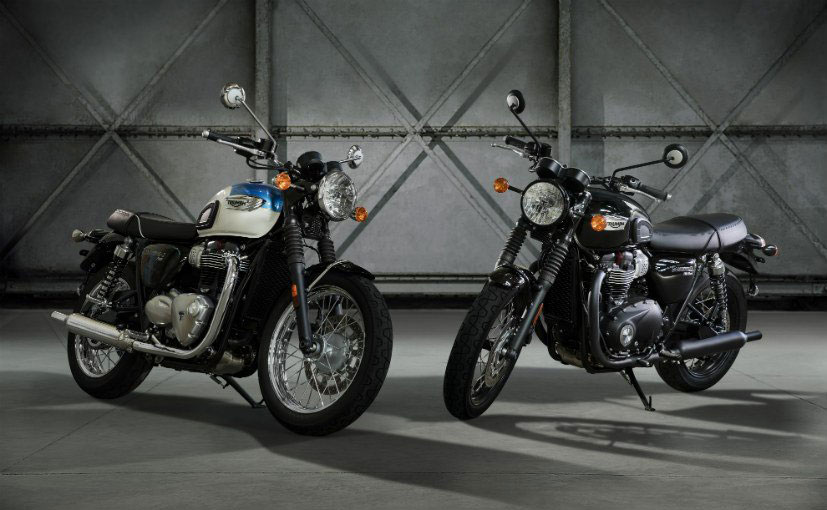 Triumph Bonnevelli T100 Photos
