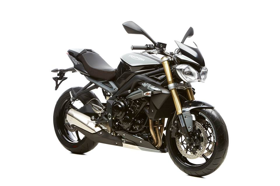 Triumph Street Triple Grey Photo