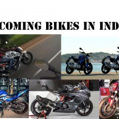 Top 5 Upcoming Bikes in India 2017/2016