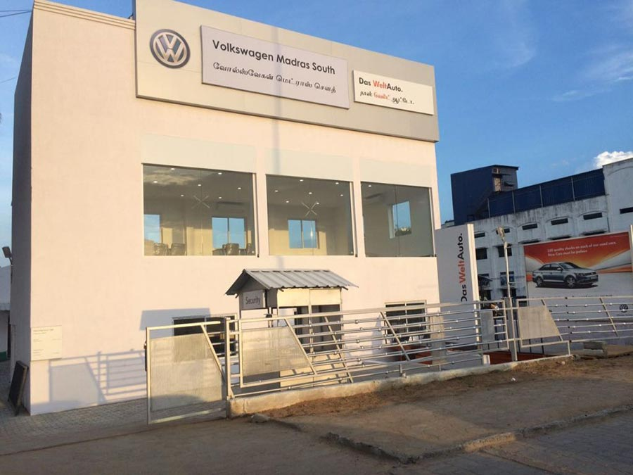 Volkswagen Das Welt Auto Showroom in Chennai