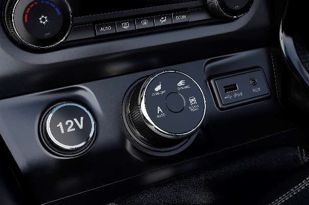 Tata Hexa Super Drive Mode