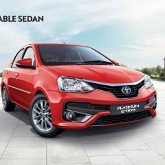 New Toyota Platinum Etios and Etios Liva Upgrade