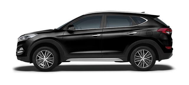 2016 Hyundai Tucson Phantom Black Color