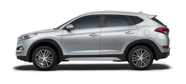 2016 Hyundai Tucson Sleek Silver Color