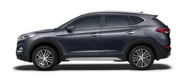 2016 Hyundai Tucson Star Dust Color variant
