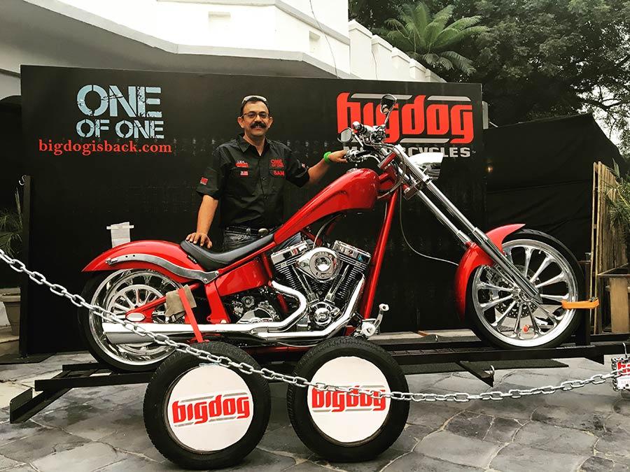 Big Dog India Riders Bike Photo