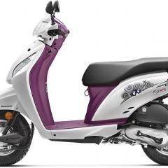 Honda Activa i Colors: Red, White, Yellow, Blue, Purple
