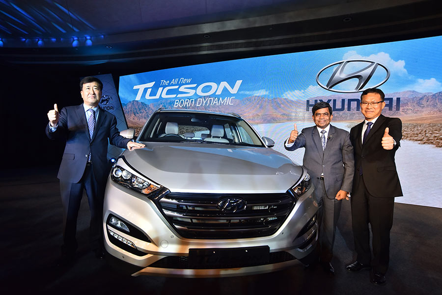 Hyundai Tucson Launch in India
