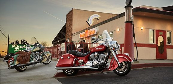 Indian Motorcycle Freedom Ride on 71st Independence Day