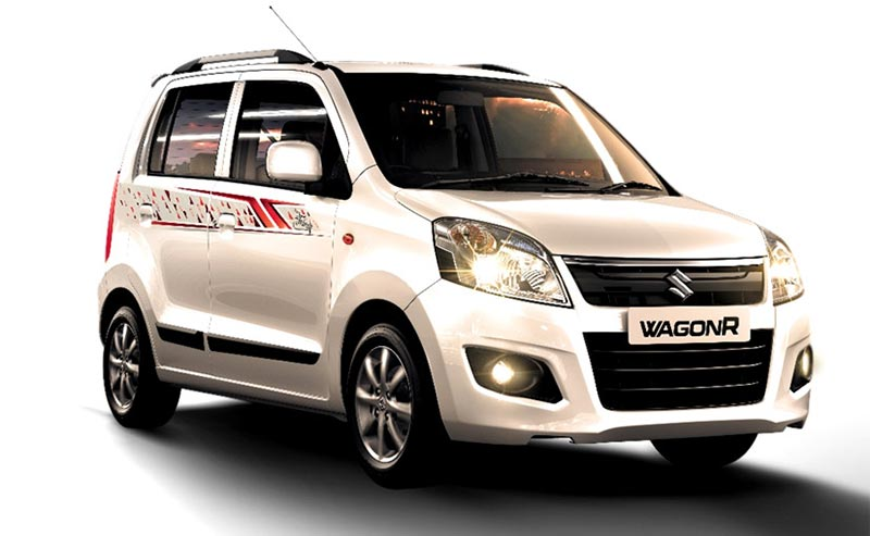 Limited Edition Maruti WagonR Front View Photo