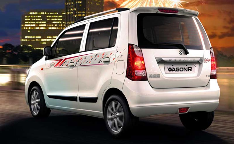 Limited Edition Maruti WagonR Rearview photo