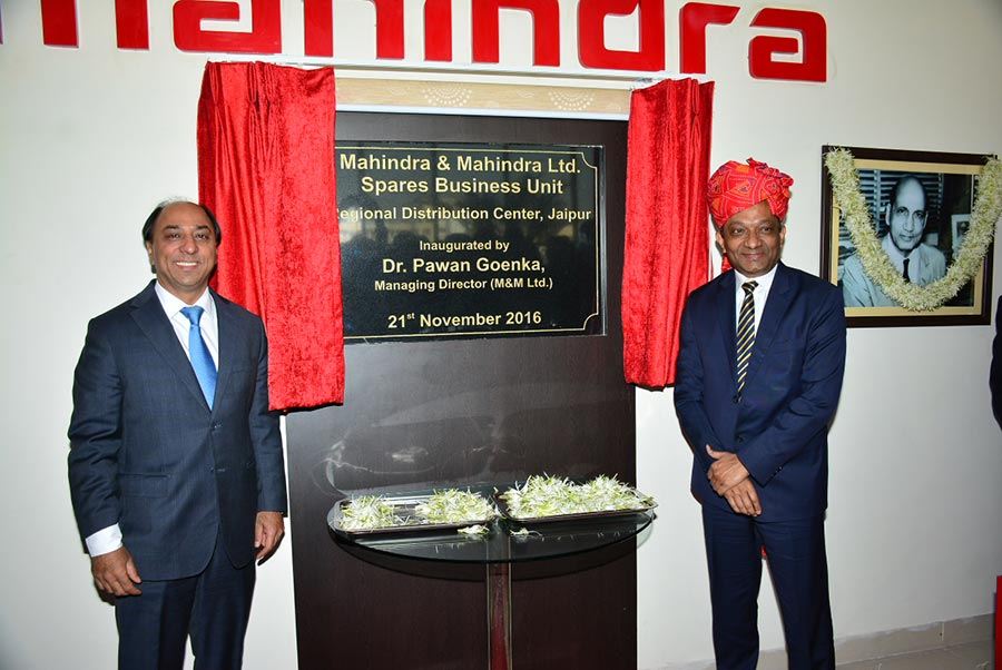 Mahindra Spare Parts WareHouse opened