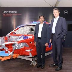 Mercedes-Benz 'Safe Roads' travels to Kolkata