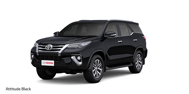 2017 Toyota Fortuner Black Color: Attitude Block color