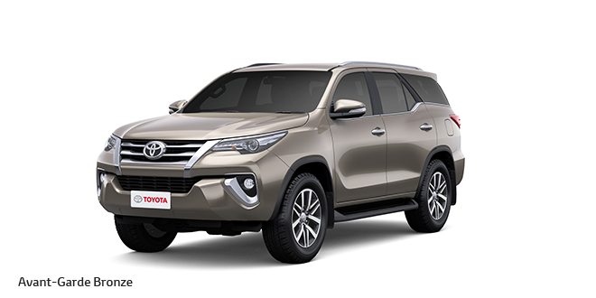 New Toyota Fortuner Bronze Color AvantGrade Bronze Color