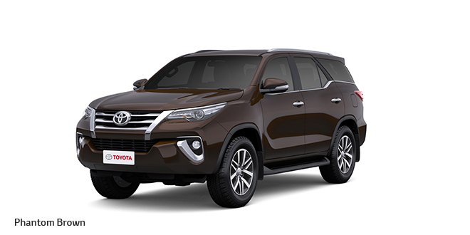 2017 Toyota Fortuner Brown Color (Phantom Brown)