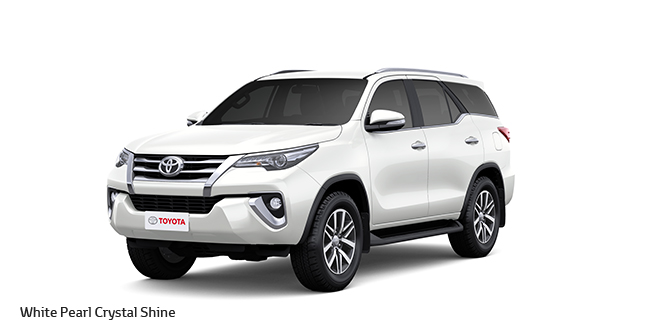 2017 New Toyota Fortuner Colors Black Bronze Brown Grey