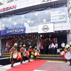 "Nissan Opens ""Apple Autocraft Nissan"" Dealership in Bangalore"
