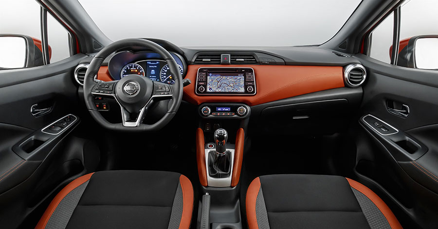 Nissan Intelligent get and go micra interior