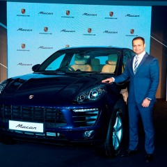 Porsche Macan with New 4-cylinder Turbo Engine Debuts in India