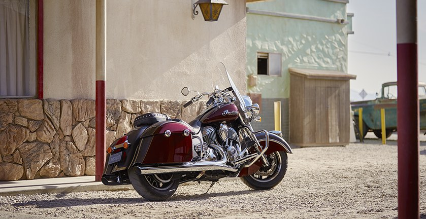 Indian Motorcycles Side View