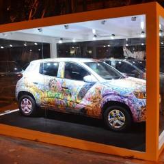 Renault Kwid Art Car unveiled in Mumbai