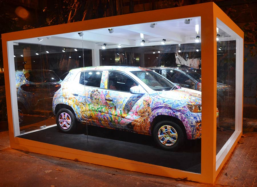 Renault Kwid Art Car Unveiled in Mumbai