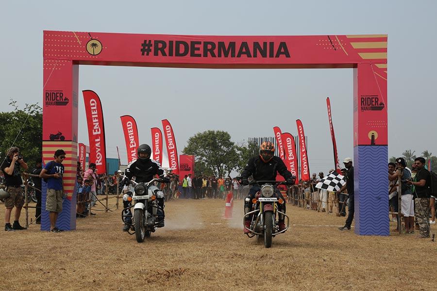 Royal Enfield Rider Mania 2016