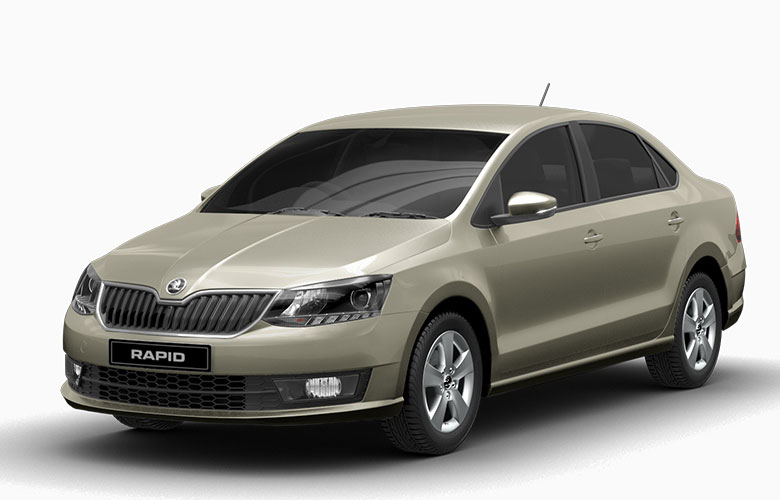 Skoda Rapid Cappucino Beige Color