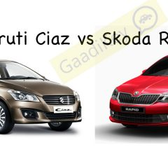 Maruti Ciaz vs Skoda Rapid: Specs Comparison