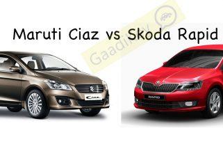 Maruti Ciaz vs Skoda Rapid: Specs Comparison