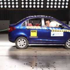 Tata Zest Scores 4 stars in NCAP Crash Test