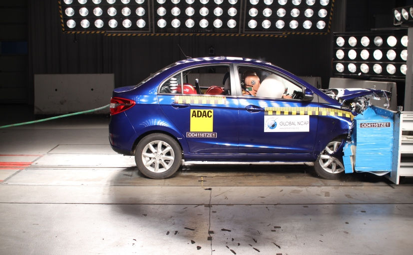 Tata Zest NCAP Rating Crash Test