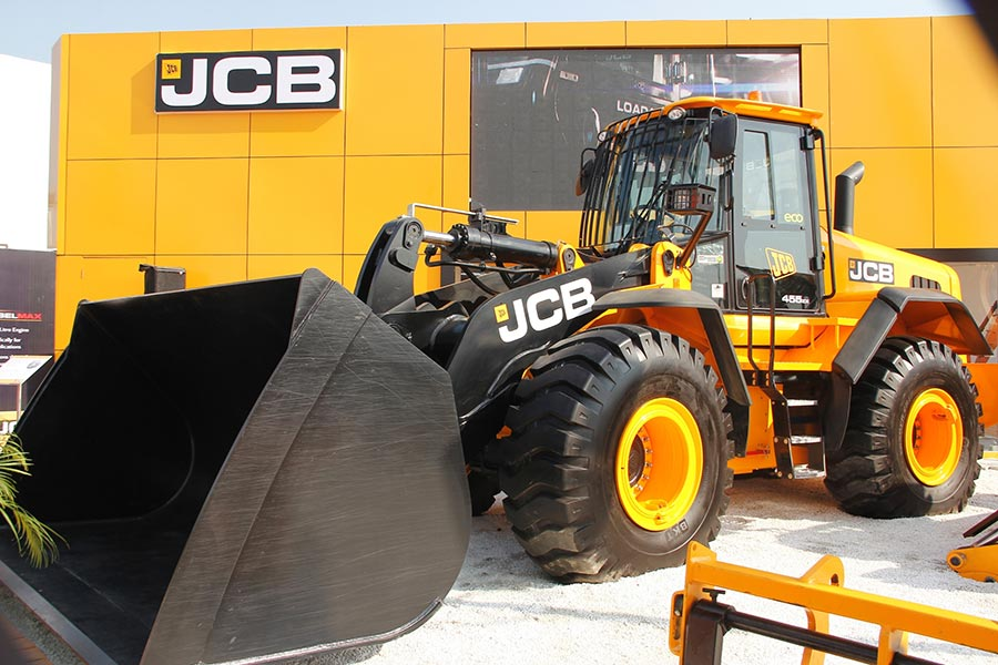 The New JCB 455zx wheeled loader