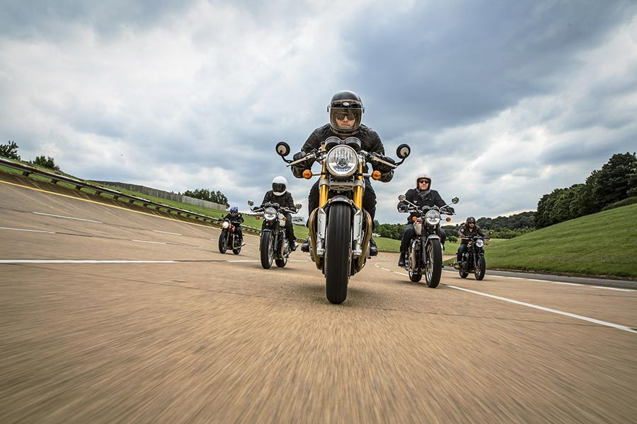 Triumph Motorcycles in India 3rd Anniiversary