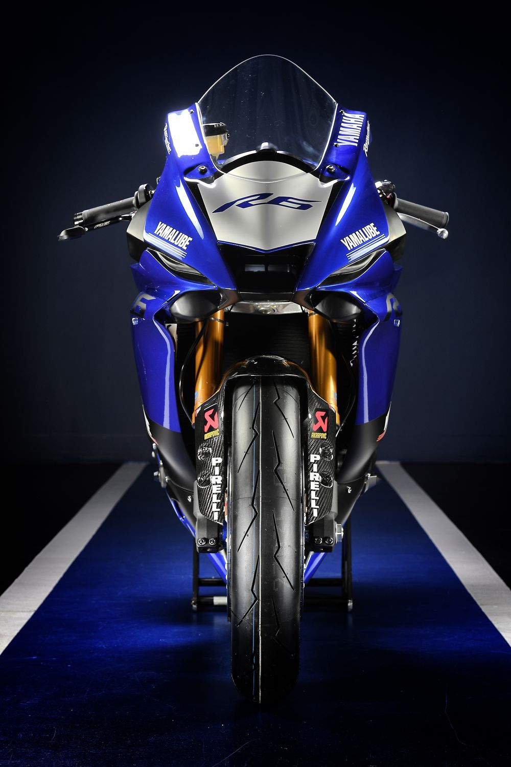 Yamaha R6 Front View Photos