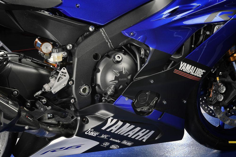 Yamaha Logho on Yamaha R6 Motorcycles