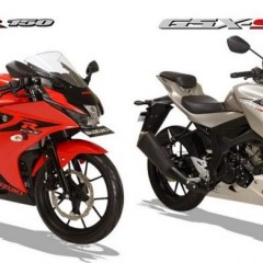Suzuki GSX-R150 and GSX-S150 (Gixxer facelift) unveiled