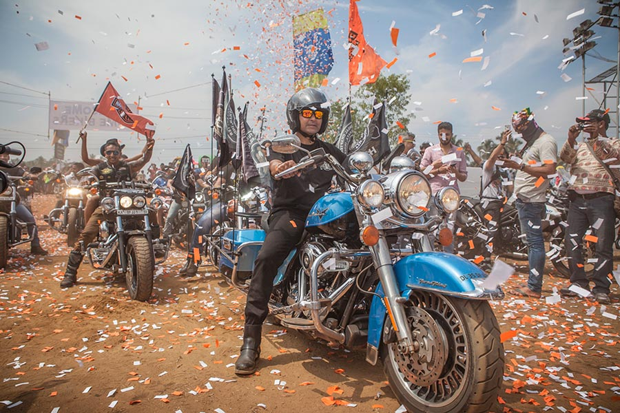 4th HOG India - Harley Davidson