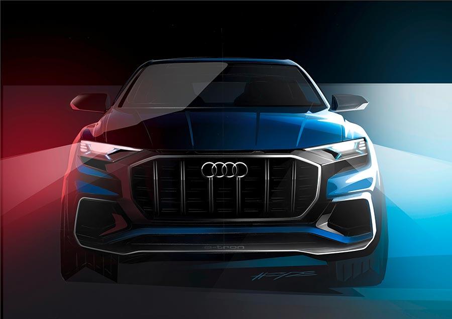 Audi Q8 Concept Preview Detroit