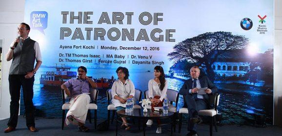 BMW as partner of the third edition of Kochi-Muziris Biennale 2016