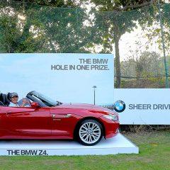 BMW India awards BMW Z4 to South Korean Golfer Mr. Sung Lee