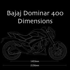 Bajaj Dominar Dimensions – Fuel Tank Capacity, Length, Height, Weight