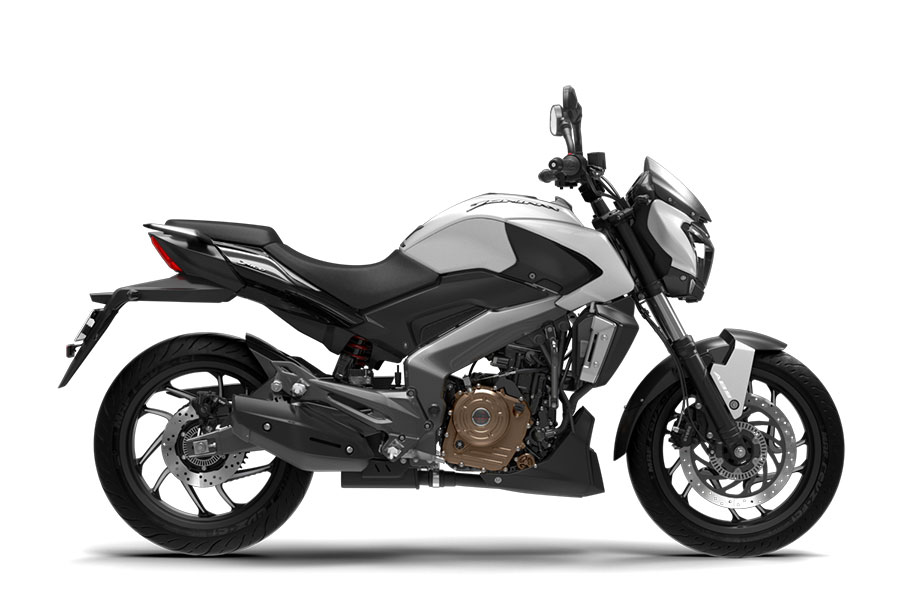 Bajaj Dominar White Color Photo