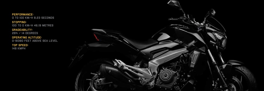 Bajaj Dominar Features and Key Details