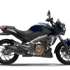 Bajaj Dominar 400 Colors: Blue, Red, Twilight Plum