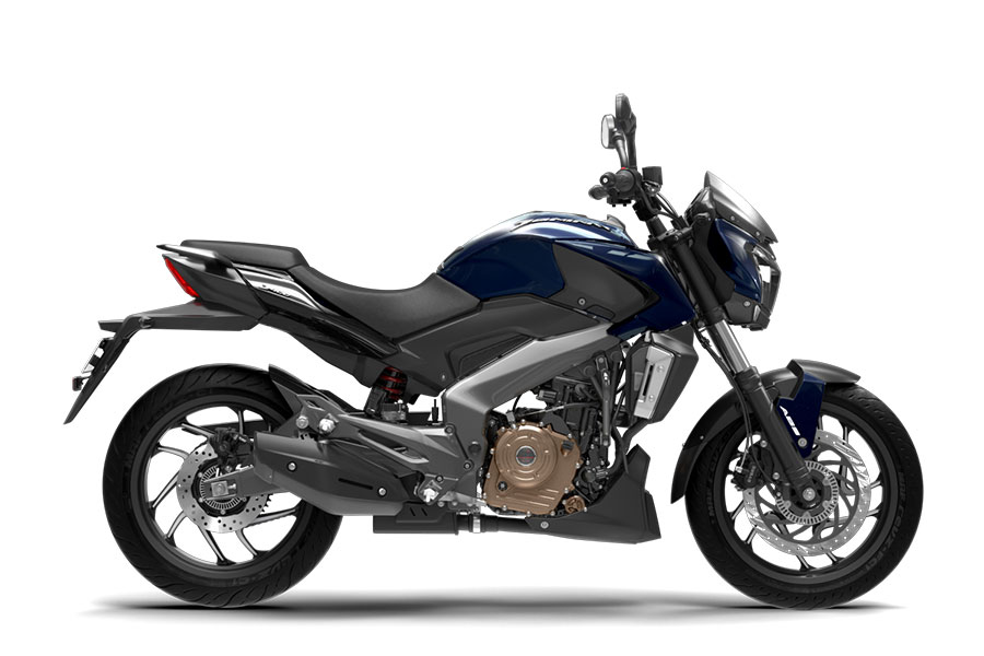 Bajaj Dominar Midnight Blue Color Photo