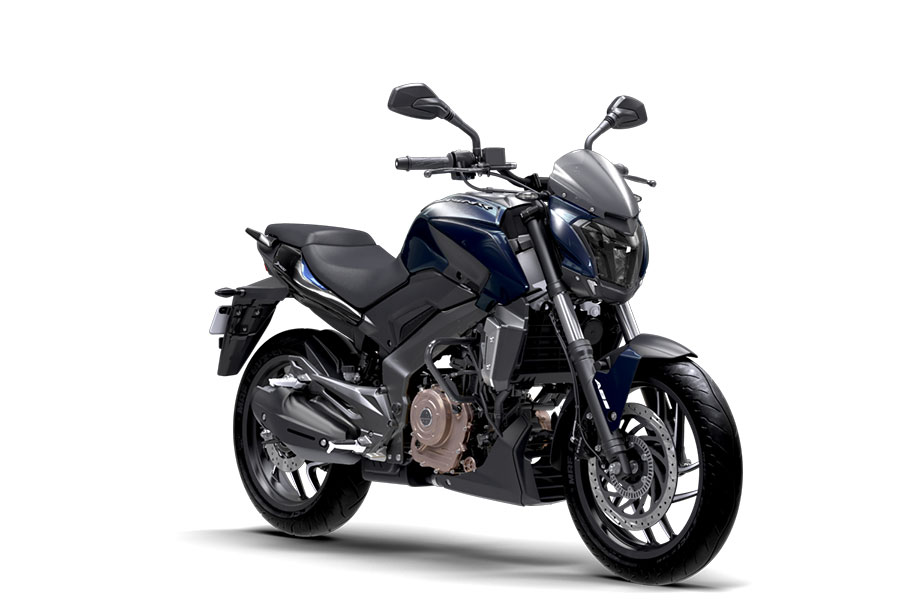 Bajaj Dominar Midnight Blue Color Photos