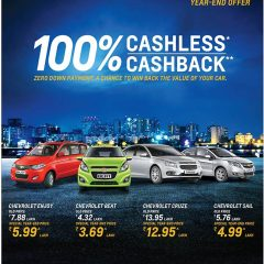 Chevrolet introduces New Year Celebrations offer; Savings Upto Rs. 63,000