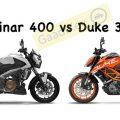 Bajaj Dominar 400 vs KTM Duke 390 Specs Comparison